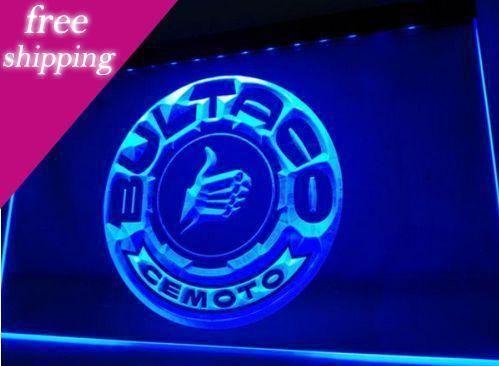 Bultaco Motosiklet Bar Bira Pub Kulübü İşaretler Led Neon Man Cave Sign 3d