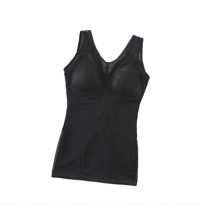 V4Q2W smQl1 gilet haut ventre fermeture des sous-vêtements en dentelle réunis Sous-vêtements doux et confortable slim filet respirant veste femmes dentelle Body-sha