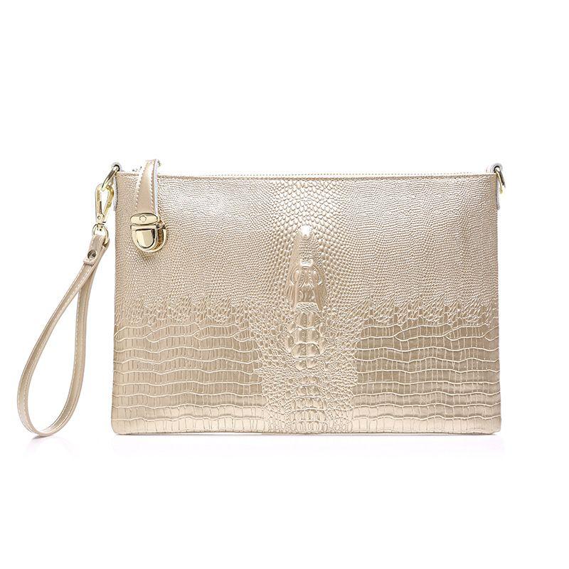 تمساح نمط المرأة مساء حقيبة حقائب القابض أكياس مساء تصميم فاخر لسيدة حزب حقيبة الهاتف المحمول