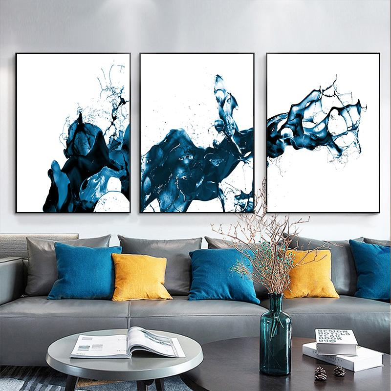 Nordic Minimalist Wall Decorative Art Canvas Poster Picture Living Room Painting