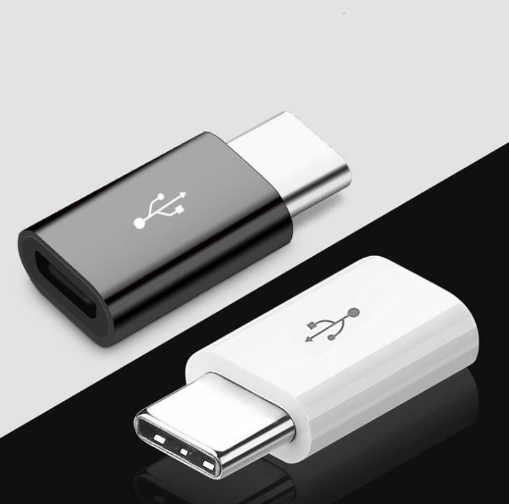 Cable Mini Micro Micro Micro Micro 2.0 a Tipo C USB 3.1 Cable Tipo-C 3.0 Adaptador FAST CARGER USB-C Data Sync Convertidor para teléfonos AnoriD