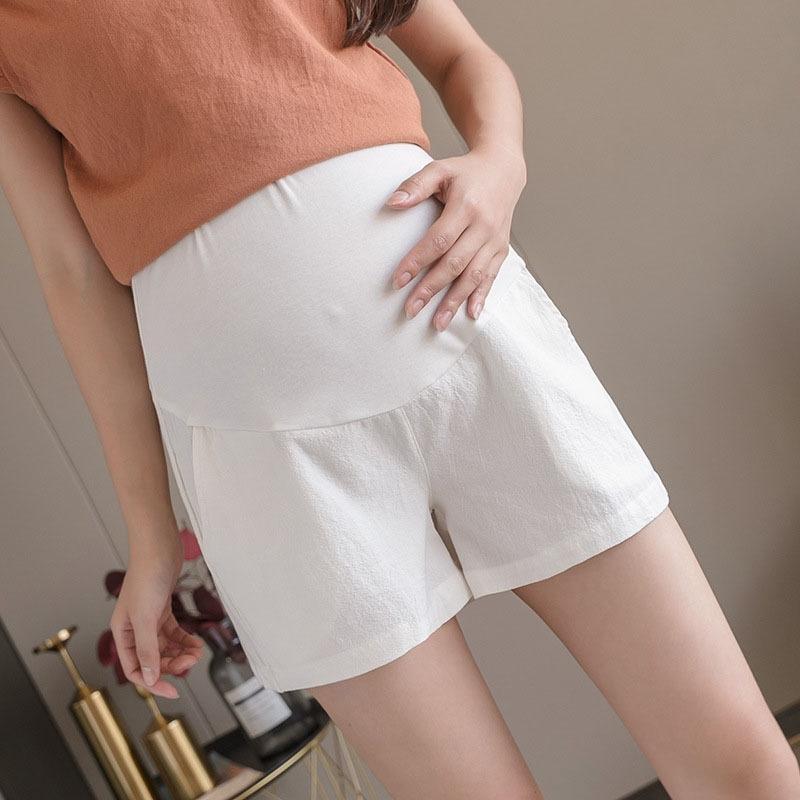sgLSG odMt9 2020 Новый беременных женщин шорты летние внешний летние модные женские платья беременных тонкие Узкие брюки узкие брюки хлопок белье