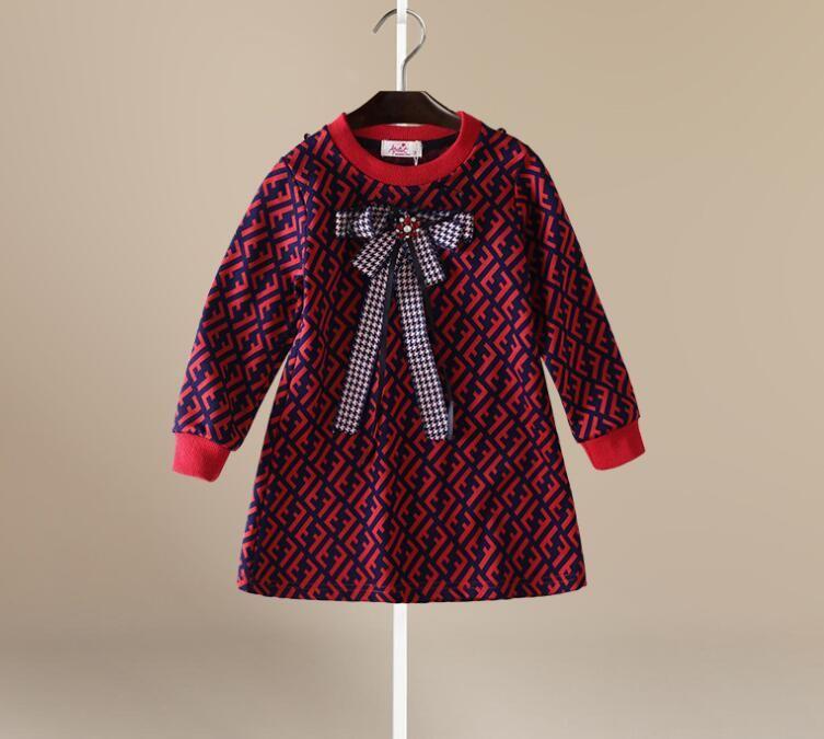 Robes Marques Mode Robes / Robe filles vente chaude Chemise à manches courtes chaud vente d'été 100% coton T-Shir 2020
