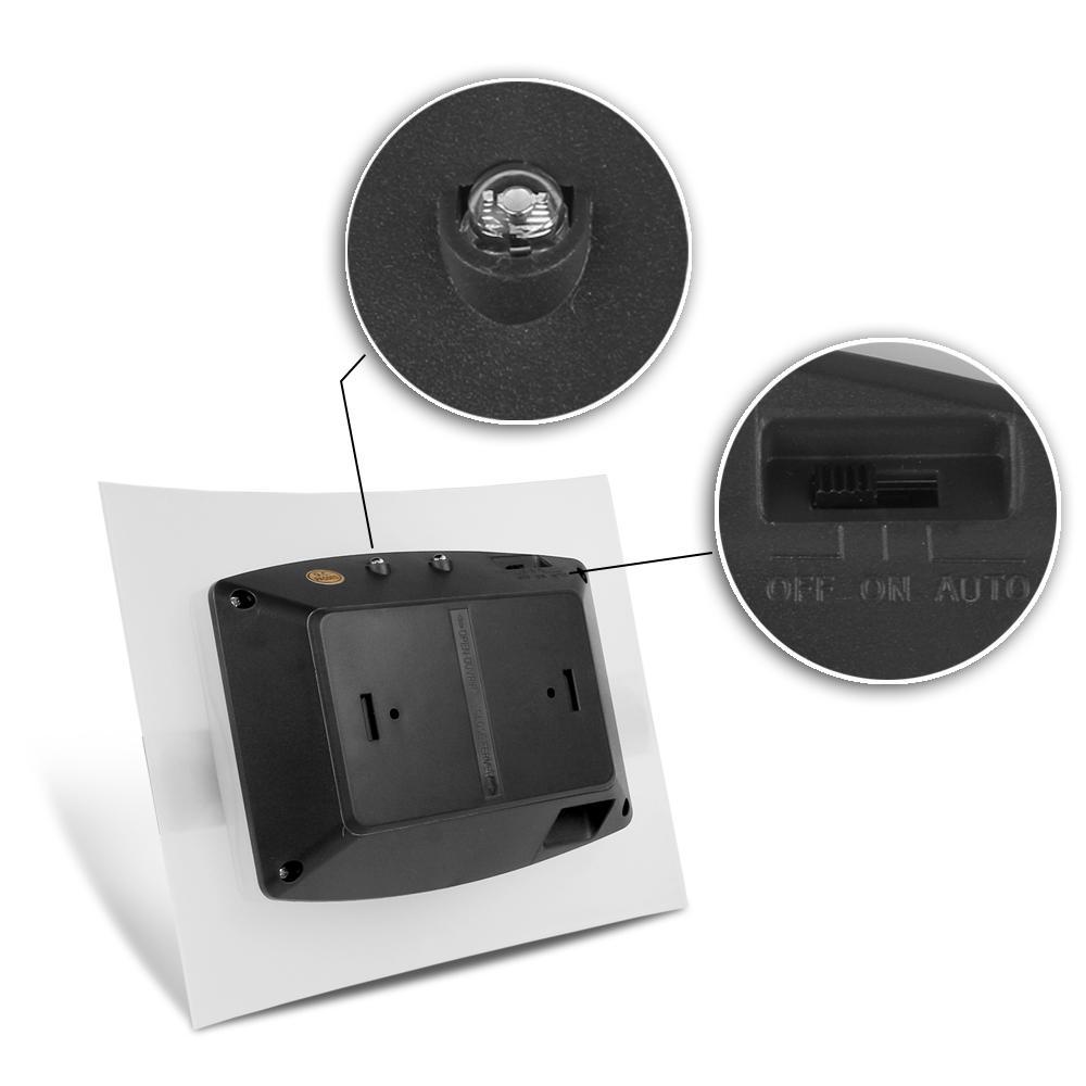 Movimento parede Sensor Sconce Operado a bateria sem fio Night Light Auto Lâmpada de parede para o quarto 1pcs Corredor armário de cozinha do armário