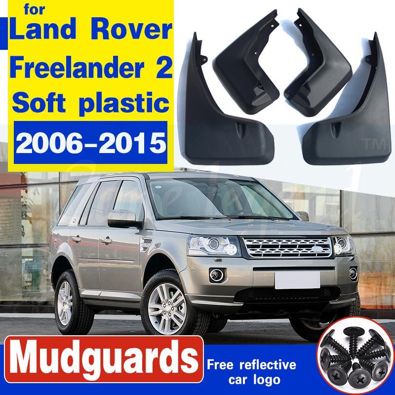 4pcs noir avant Bavette arrière garde Set pour Land Rover Freelander 2 2006-2015 Garde-boue Garde-boue Fender BOUE Accessoires