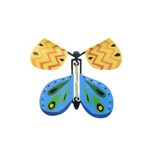 Изменение Новая магия бабочки Полет бабочки с пустыми руками Свобода Бабочка Магия Реквизит фокусы DS