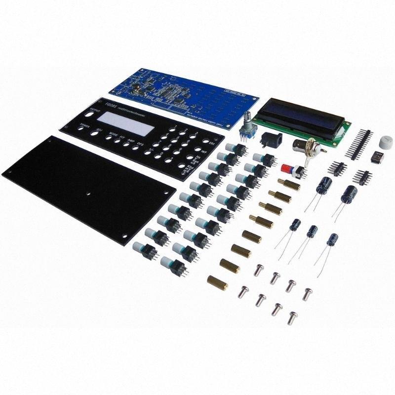 Tragbare MiniDDS Digital-Funktionsgenerator Servo Test Signal Generator-Controller Kit DIY-Teile mit Power Adapter 2IGt #