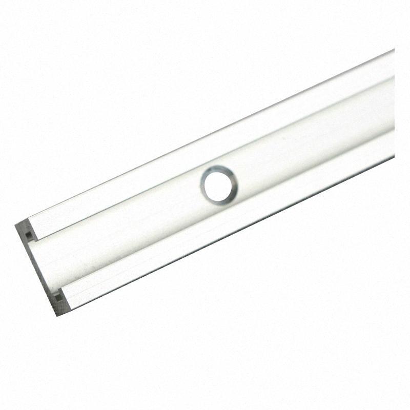 Обработка древесины Т-образными пазами скос Slide Rail алюминиевого сплава Крепеж фрезерный станок Workbench Инструмент 19 Тип скос Руководство DIY инструмента qGHG #