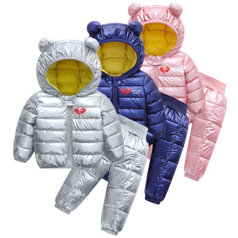 2020 sonbahar ve kış bebek ceket, çocuk sıcak kapüşonlu ceket, pamuklu giysiler, yeni uzay kumaş üstleri