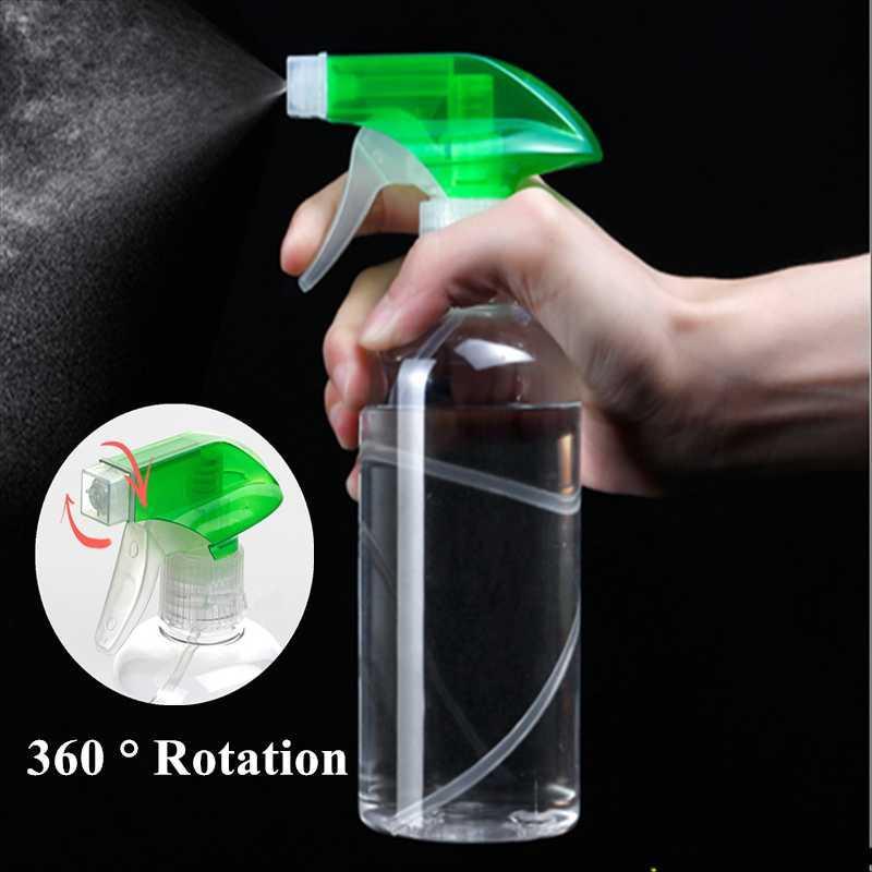 1PCS 250 / 500ml Spray nettoyant bouteille vide Mist Vaporisateur Type de déclenchement Fournitures d'arrosage Nettoyage de jardin en plastique