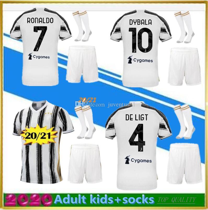 Maillots de foot 20 21 soccer jersey  2020 2021  jersey camisetas football kit shirt men sets+sock