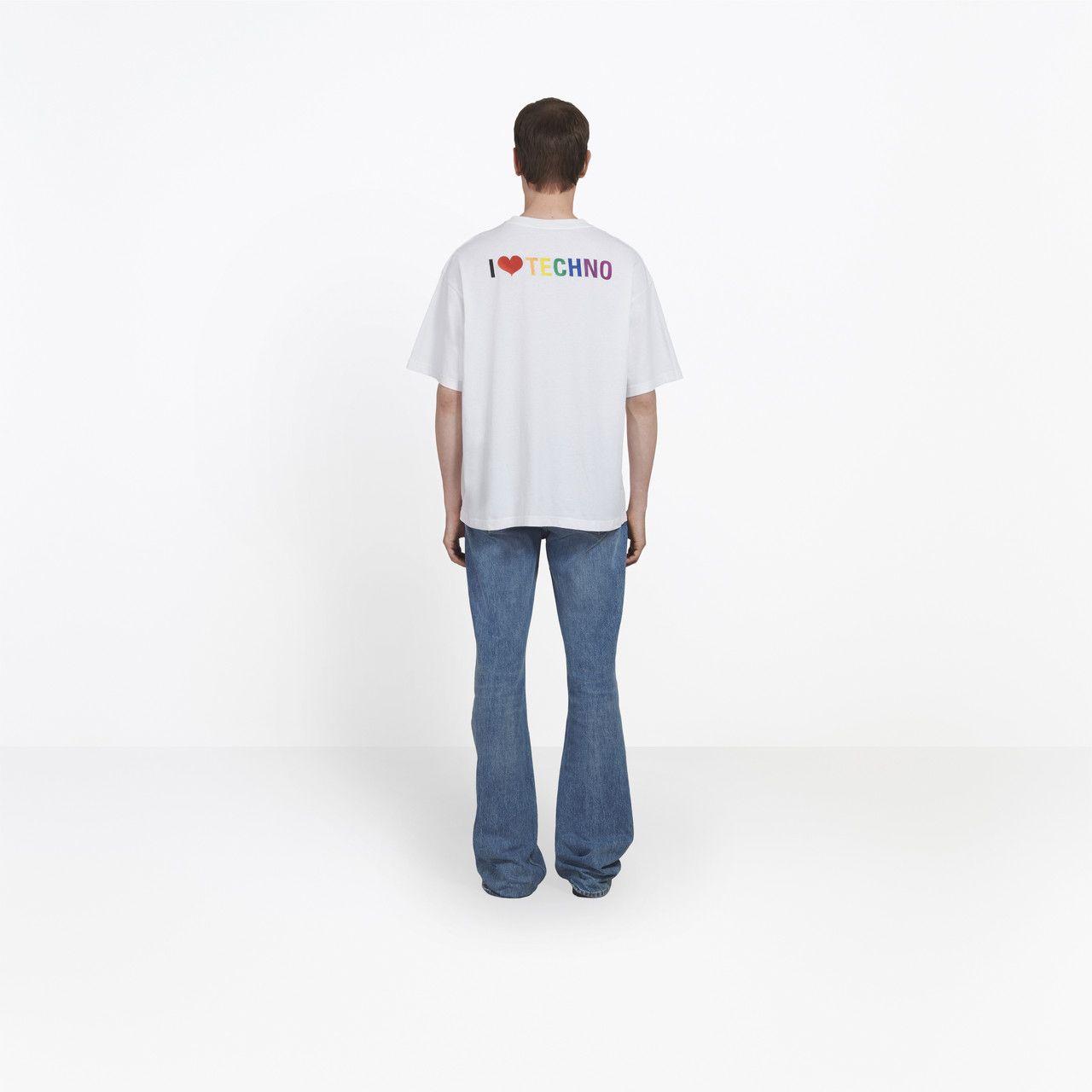 Fashion Mens Women T Shirt With I Love