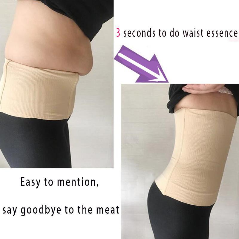 qualitySlimming Shaper Belt Breathable Women Waist Cincher Girdle Body Shapewear Corset Belts Ultra Thin Belly Seamless Shapers Stomach