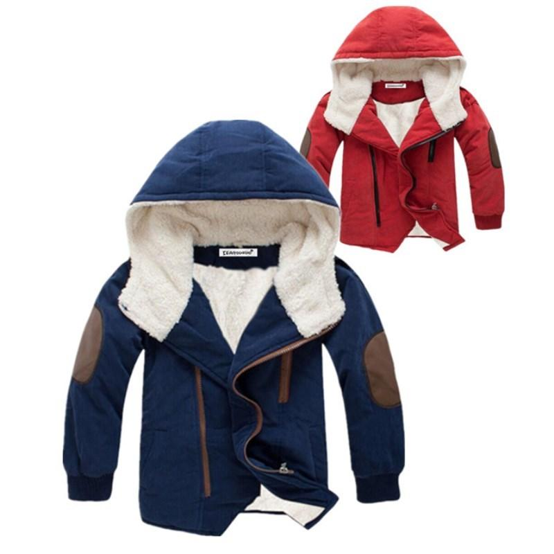 Boy Winter Jackets 2020 Long Sleeve Jacket For Boys Children Jacket Kids Hooded Warm Outerwear Coat For Boy Clothes 3-12 years LJ200831