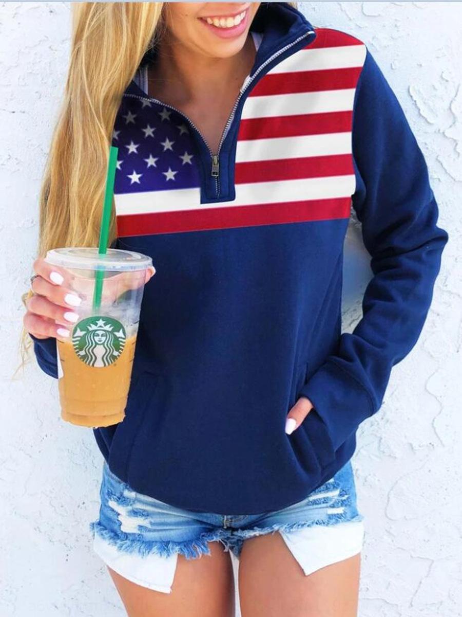 0g8Fh xJEGV Independencia de mayor venta Día de la Independencia EE.UU. impreso 2.020 impresa la bandera nacional de 2020 Día EE.UU. suéter de la bandera nacional SWEA mejor-se