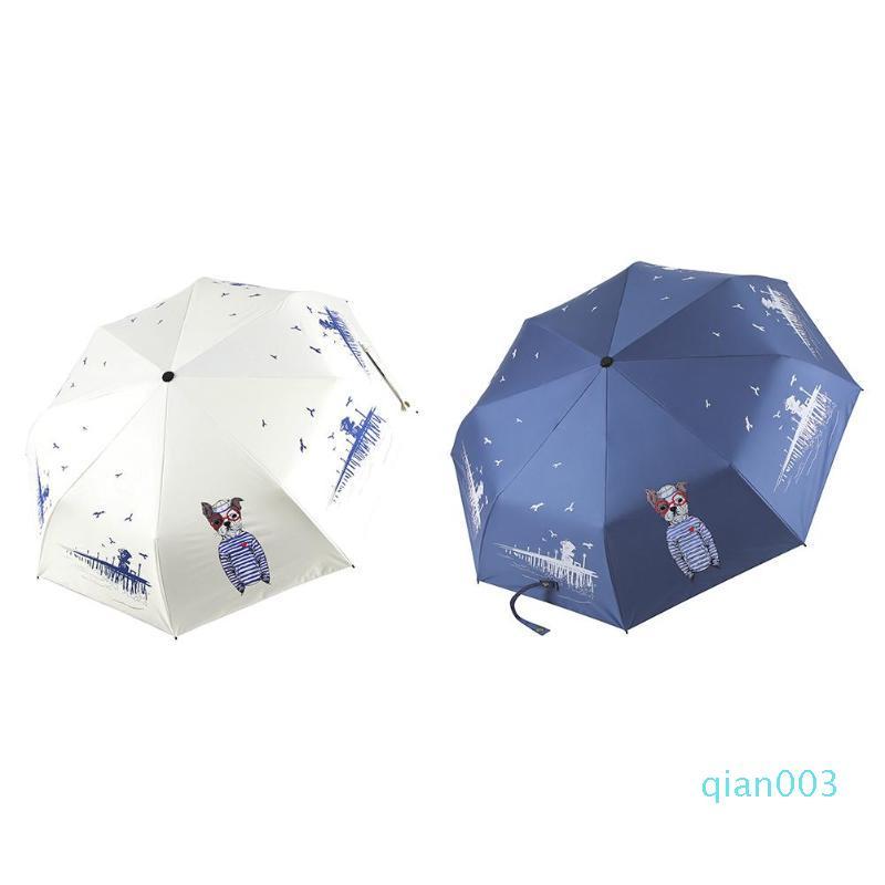 Multi-Functional Trifold compatto Protezione UV leggera estiva Spiaggia ombrelloni