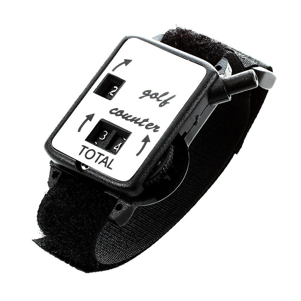 Counter Mini Score Keeper Putt Wristband Golf Stroke Club Mechanical Watch Type