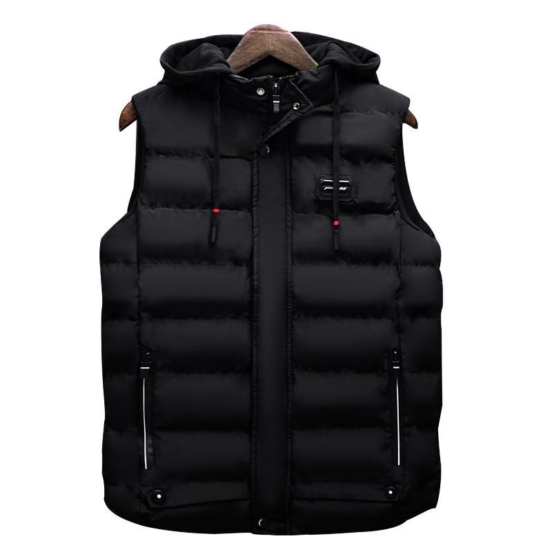 Caliente Outwear BOLUBAO casual chaleco de los hombres chaquetas sin mangas 2020 Otoño Invierno Moda masculina Sólido chaleco de los hombres