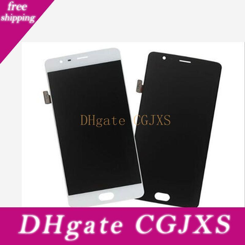 For One Plus 3 A3000 A3003 A Original New Test Lcd Touch Screen Digitizer Assembly Black White