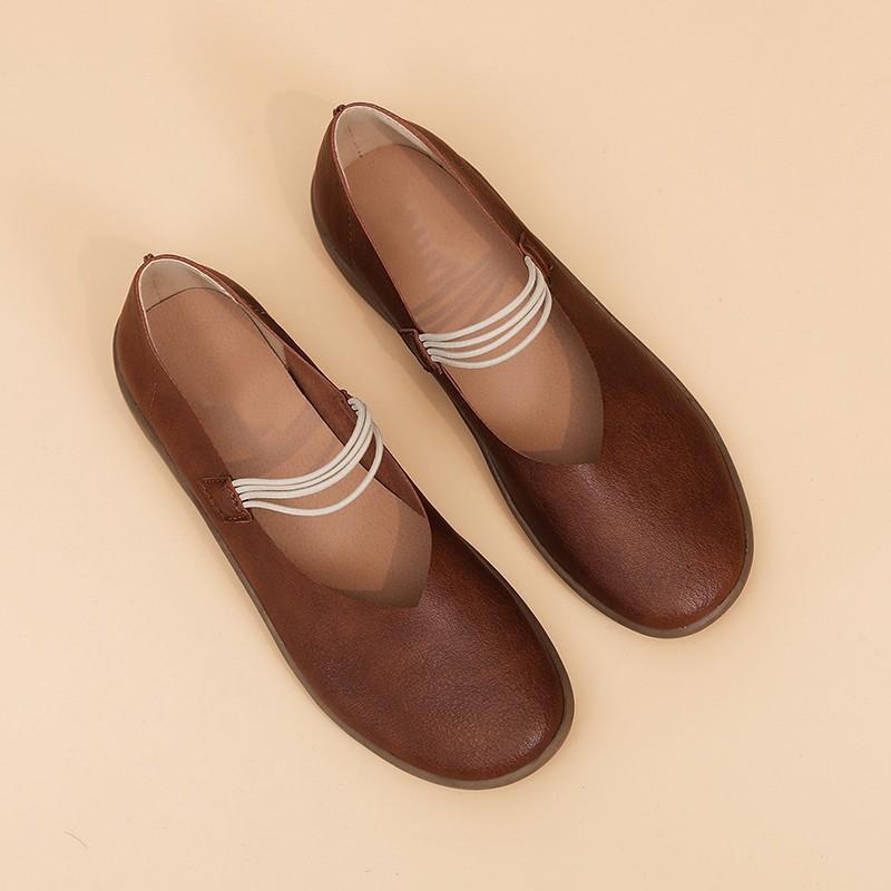 Damen Loafers Weibliche beiläufige Slip-on-Frauen bequeme flache Fest Seicht Schuhe Mode weiche Unterseite Schuhe plus Größe 36-43