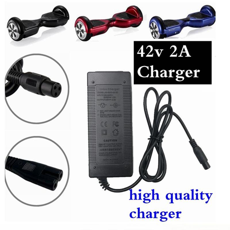 호버 보드 스마트 균형 36V, 전기 스쿠터 어댑터 chargerEU / 미국 / AU / 영국, 1PC, 최저 가격에 대한 범용 배터리 충전기