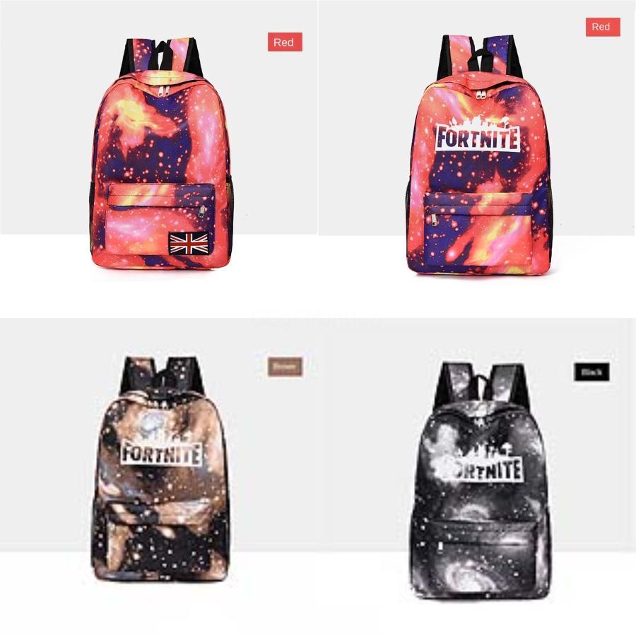 Женщины Fortnite Starry Sky крепости Ночь Рюкзак Multiple Использование Женщины Сетка Fortnite Starry Sky Fortress Night Backpacks Женский Школа Ba # 262