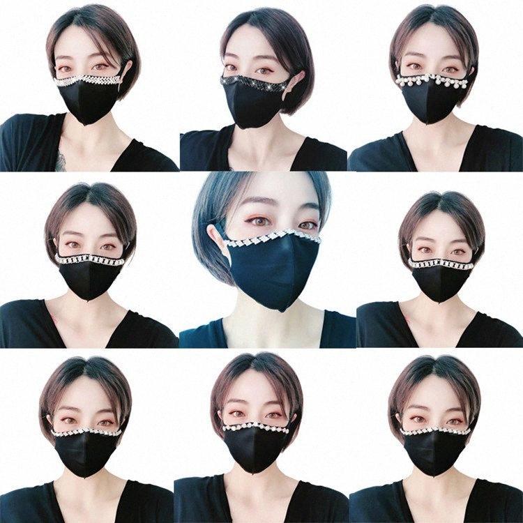 горячая личность Dust маски стереоскопической Удобного искусственного алмаза лицо маска Уборка товары для дома дизайнер Маски T2I5982 vS5h #