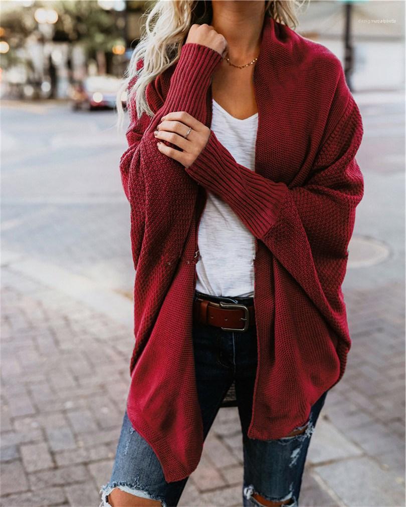 طويلة الأكمام معاطف الأزياء البحتة لون إمرأة جاكيتات الشتاء الستر مصمم السيدات عارضة الملابس النسائية