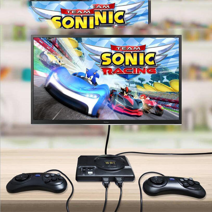 16 بت البسيطة ريترو سيجا حدة تحكم لعبة فيديو محمول للألعاب SEGA مع boxs التجزئة