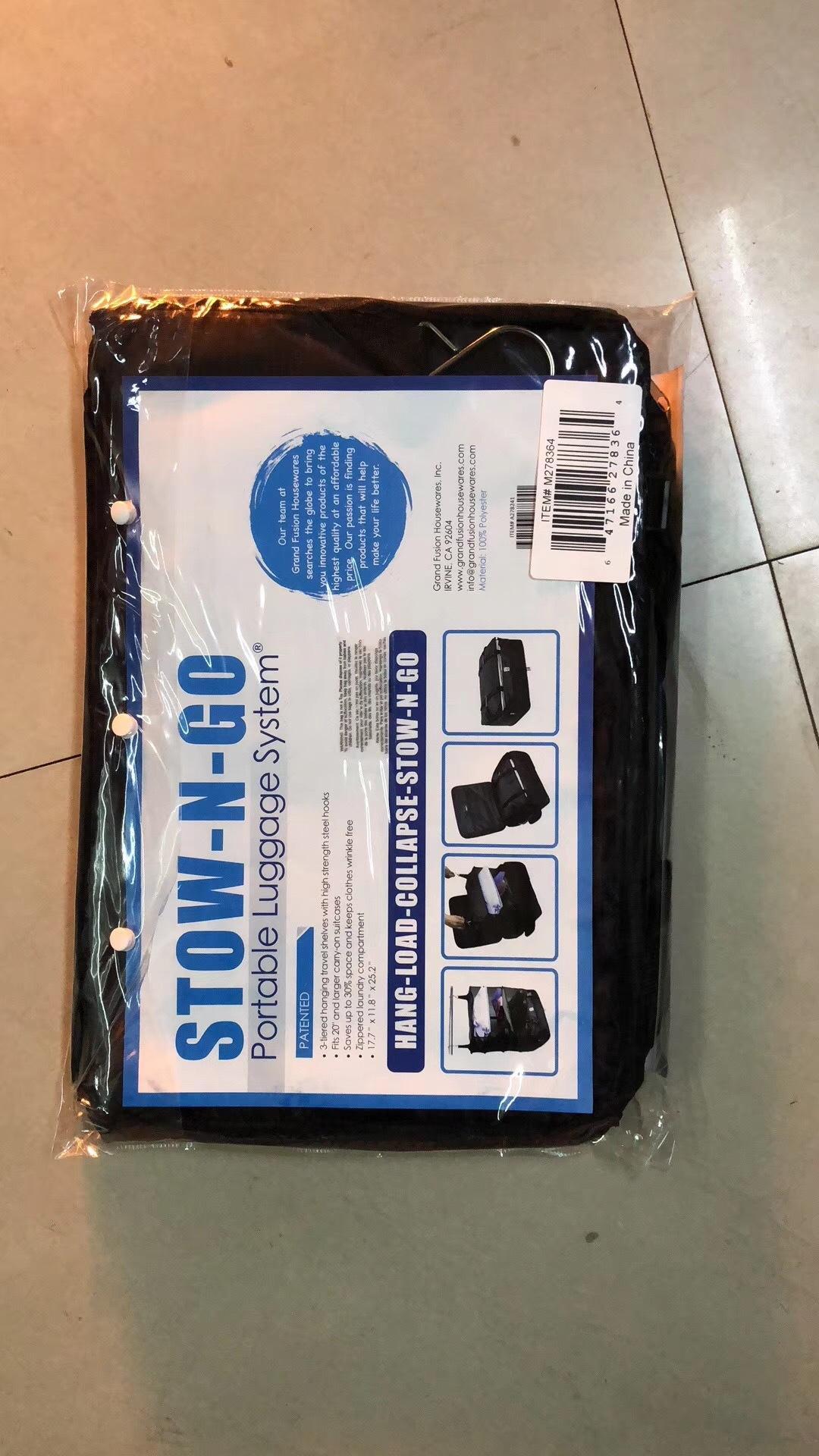 produtos domésticos TV multi-funcional de viagem vestuário de três camadas saco de armazenamento de viagem saco de armazenamento de roupas penduradas