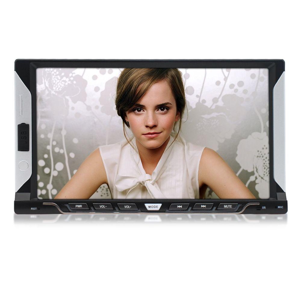 Alta qualità prezzo poco costoso da 7 pollici del sistema universale di Android Stereo Music Video Lettore Dvd Auto