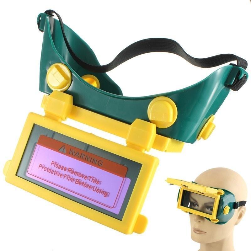 Segurança contra iscas Escurecimento Welding LCD Solar Welding Helmet Goggles Óculos de soldadura máscara protetora Grinding Proteção Welder