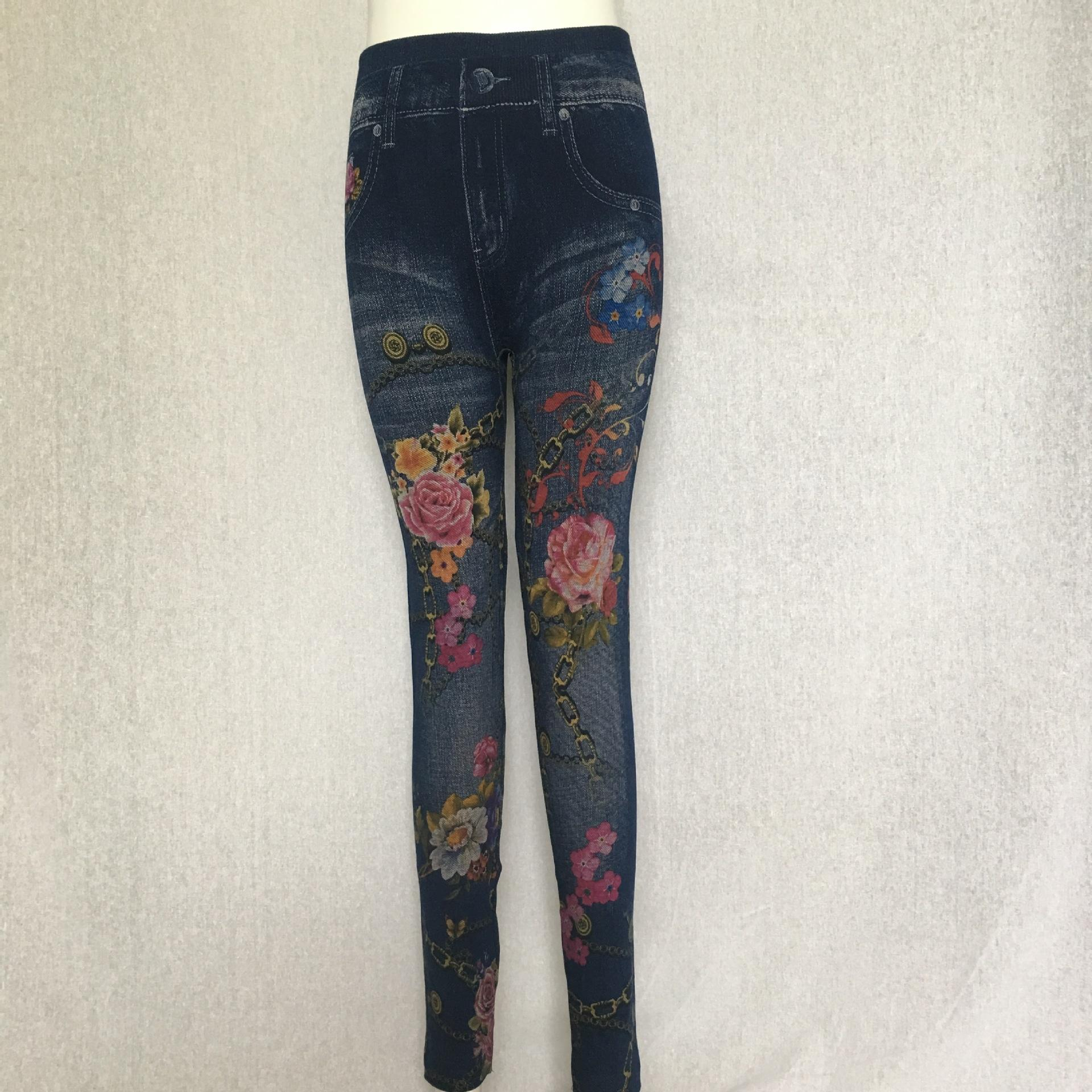 stretch zUCWK Pnibb leggings em forma de coração feminino ocos-out calças jeans grande extensão em forma de coração oco-out Grande calças apertadas tigh das mulheres