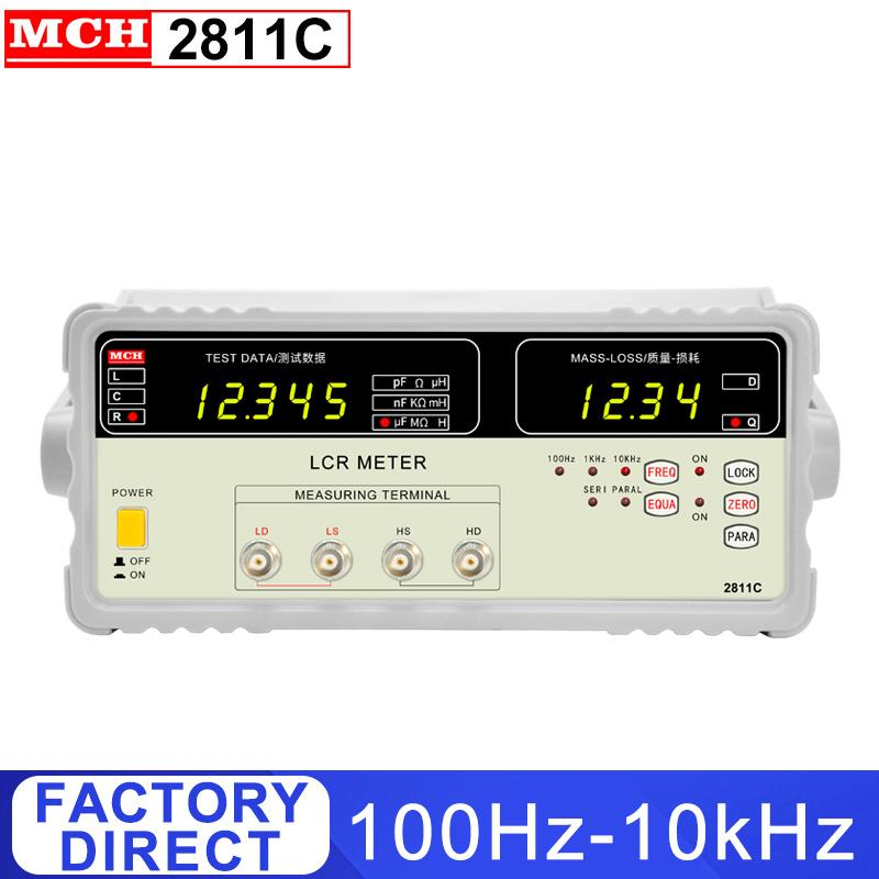 % 0.1 Doğruluk LCR köprü metre ile 100Hz-100 kHz Dijital LCR Köprüsü Metre 8817 2817 2817A 2811C 4 özellikler isteğe bağlı