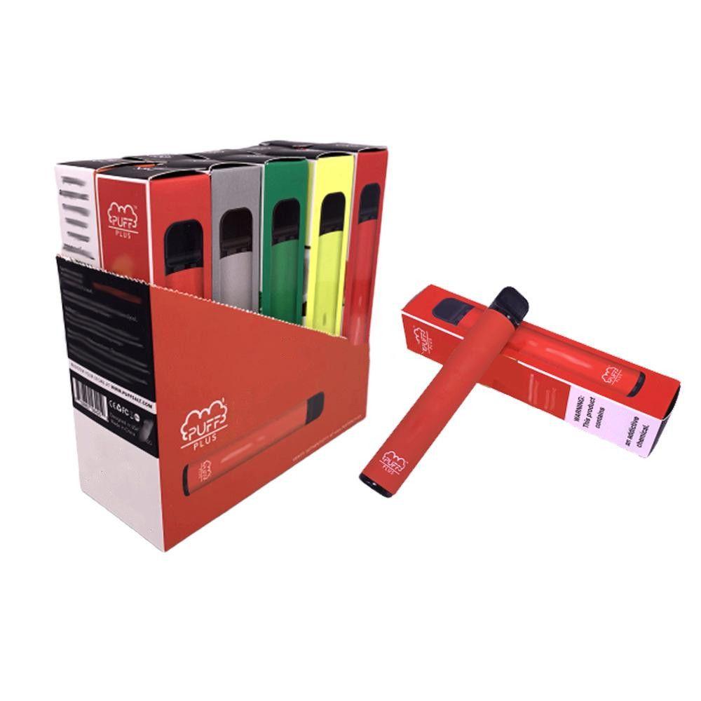 Vape 액체 3.2ml 포드 카트리지 550mAh Vape 배터리 기화기 키트 2020 정품 전자 담배 키트 일회용 퍼프 바 PUFF 플러스 펜