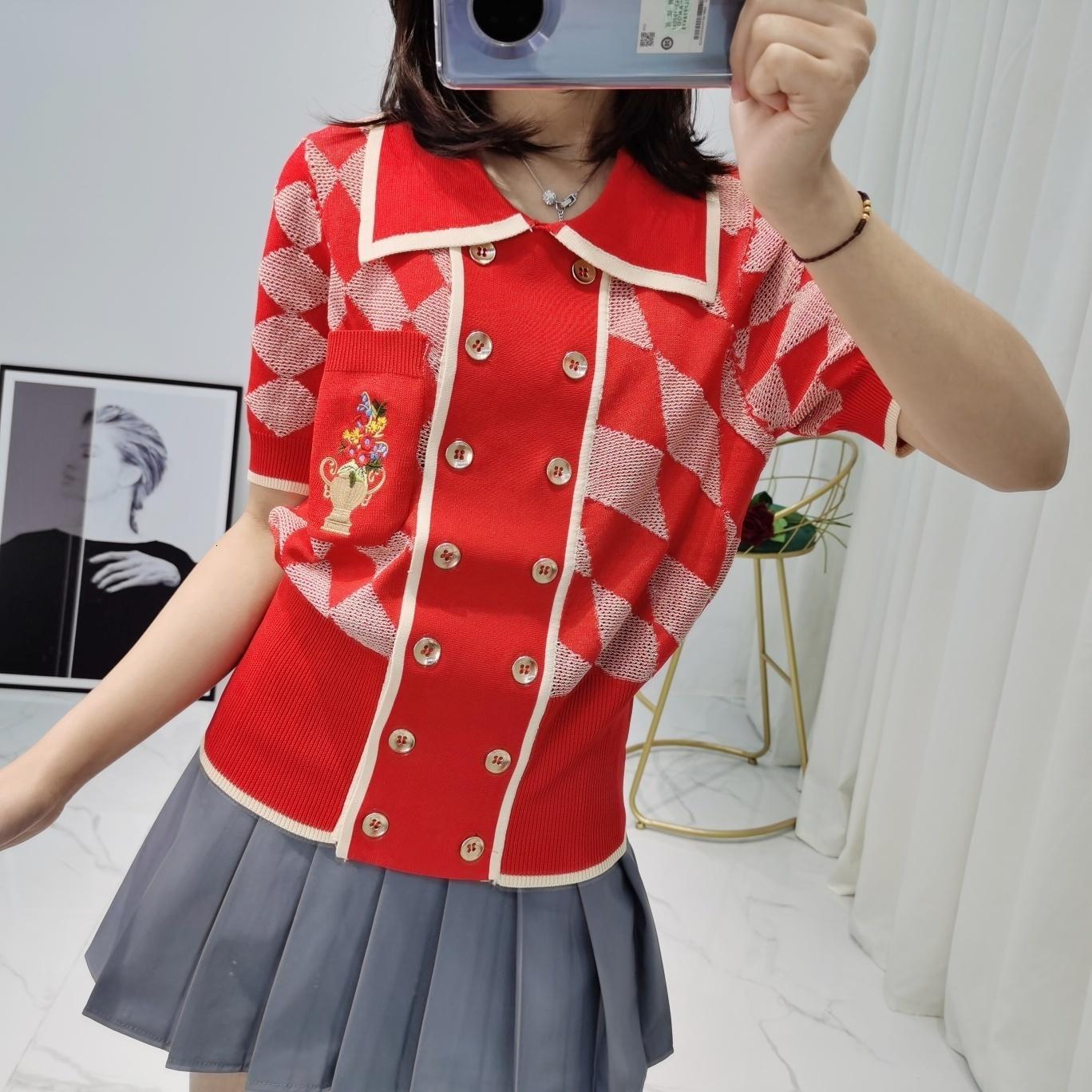 Diseñador DS7T camiseta camisas casuales de las mujeres camisetas de las mujeres sueltan la venta al por mayor caliente recomendar la mejor venta el nuevo sencillo lista