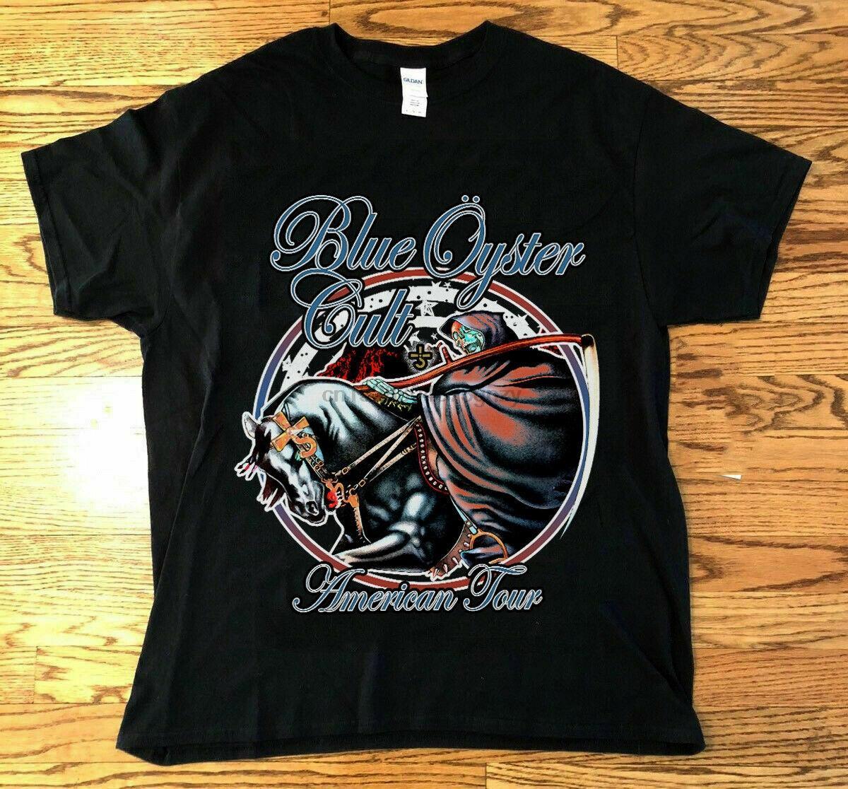 Blue Oyster Cult camisa de la vendimia 1978 Some Enchanted Evening REIMPRIMIR S-3XL DE DOS LADOS Hombres Mujeres Moda Unisex camiseta envío