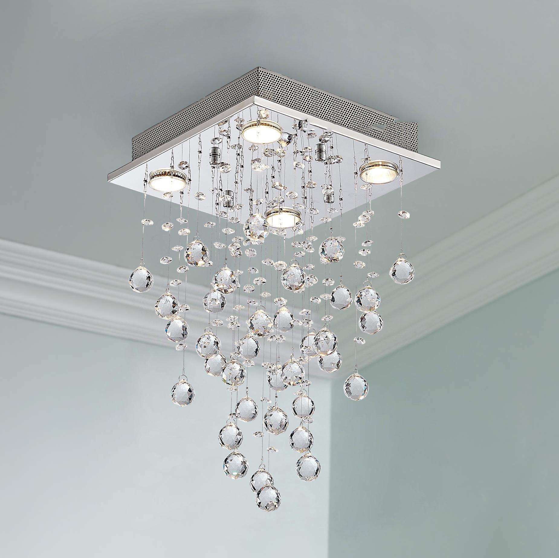 간단한 주도 크리스탈 샹들리에 침실 쇼룸 장식 크리스탈 천장 거실 천장 램프 LED가 수출 펜던트 램프 램프
