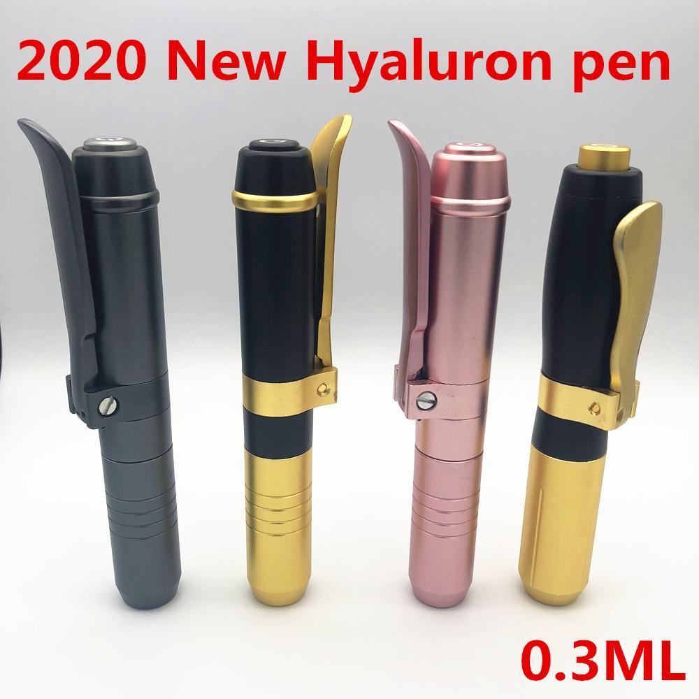 2020 новый высокого давления металла Гиалуроновая Pen Высокая плотность Для против морщин Лифтинг губ гиалуроновой пистолет распылитель Lip шприц-ручки