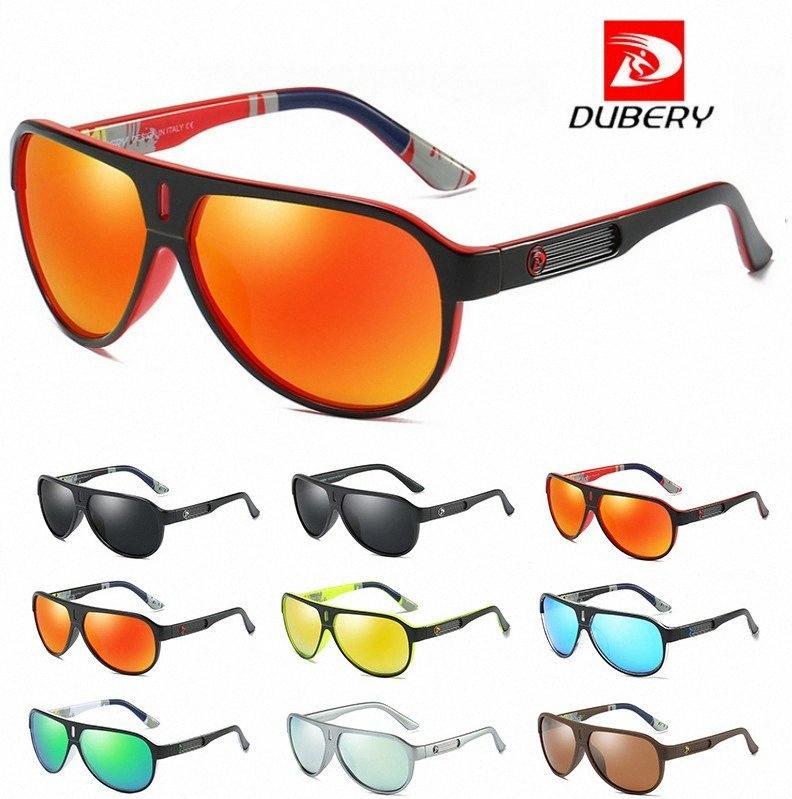 DUBERY Tasarım Polarize Güneş Gözlüğü Erkekler Sürüş Shades Erkek Retro Güneş Gözlükleri İçin Erkekler Yaz Ayna Gözlüğü UV400 Güneş 163 Süper S X1X6 #
