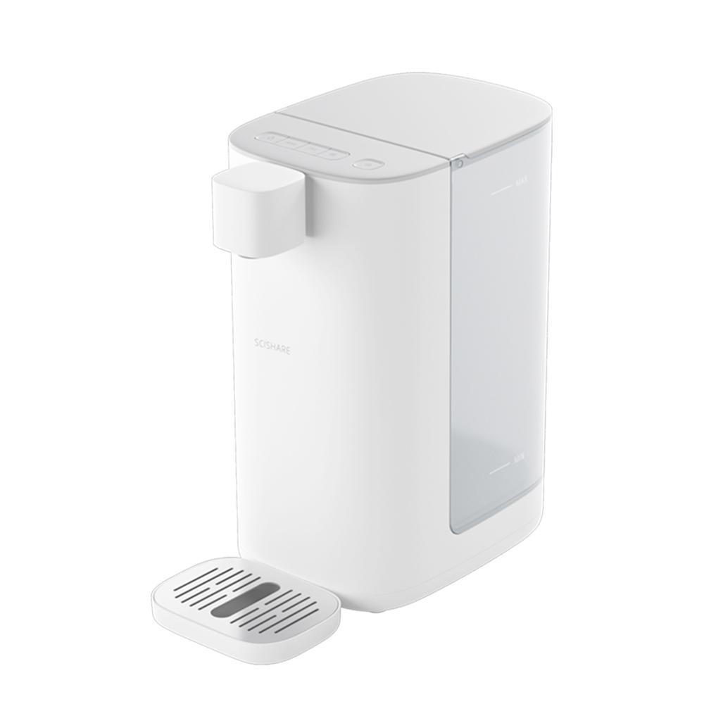 Xiaomi Youpin SCISHARE Calentador de agua caliente instantánea Dispensador de agua de 4 engranajes Temperatura de luz LED 3L 2200W 220V