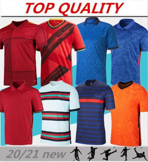 Hommes 2020 2021 Chemises de football de jersey de football 20 21 maillot de pied camiseta de fútbol