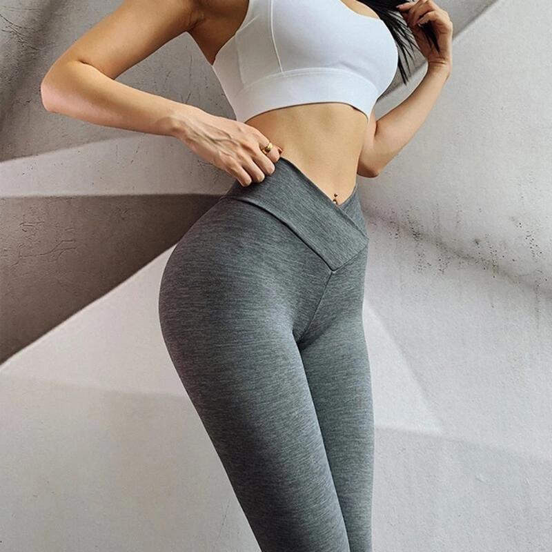 Academia de cintura alta Legging sem emenda Energia gymwear treino de corrida Activewear Yoga Pant Hip elevação calças stretch Esportes #C