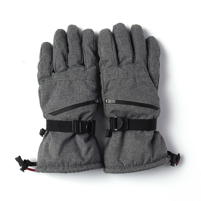 Зимний теплый водонепроницаемый ветрозащитный спорт Лыжный Снег перчатки