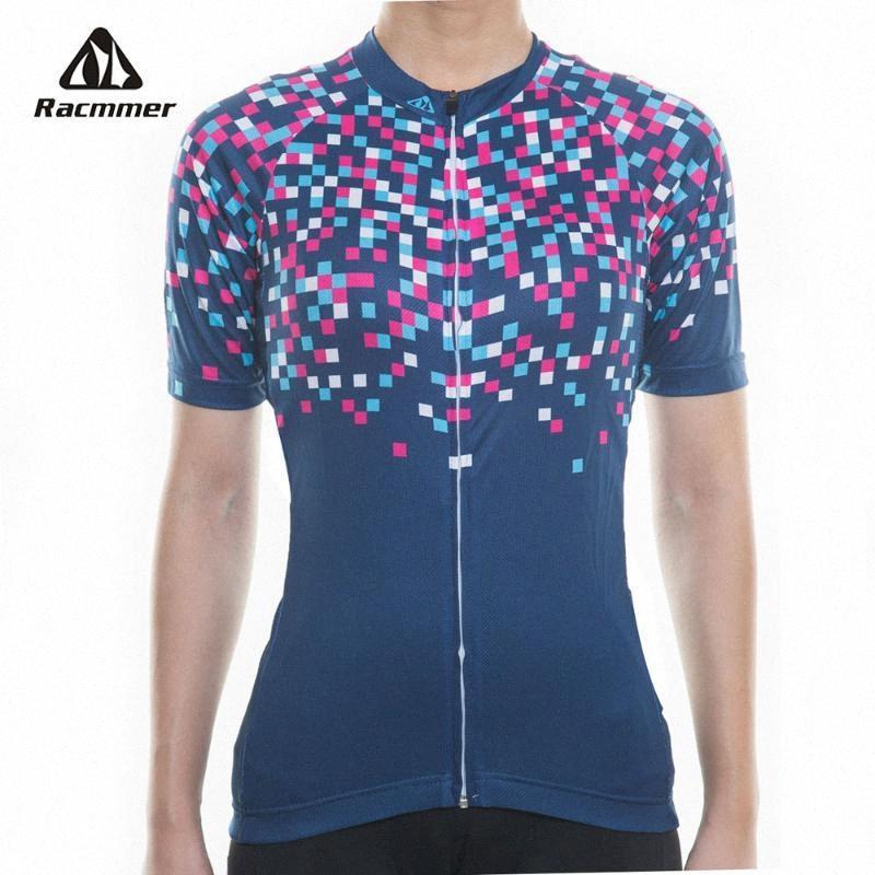 Racmmer 2020 Новый Pro Женщины Велоспорт Джерси Летние MTB Одежда Короткие Велосипед Одежда Ropa Ciclismo Mujer велосипед Wear Kit # NS-13 sWtx #