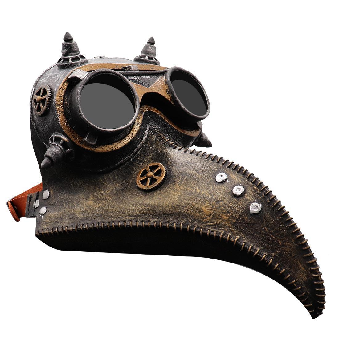 Scary máscara de Halloween Pico doctor Cuervo del partido del traje de látex Máscara en bares y entretenimiento