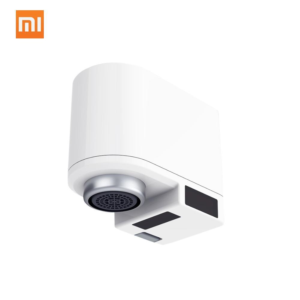 Interruptor de ahorro de agua automático Xiaomi Z infrarrojos inducción de desbordamiento dispositivo ajustable de agua difusor para cocina baño grifo del fregadero