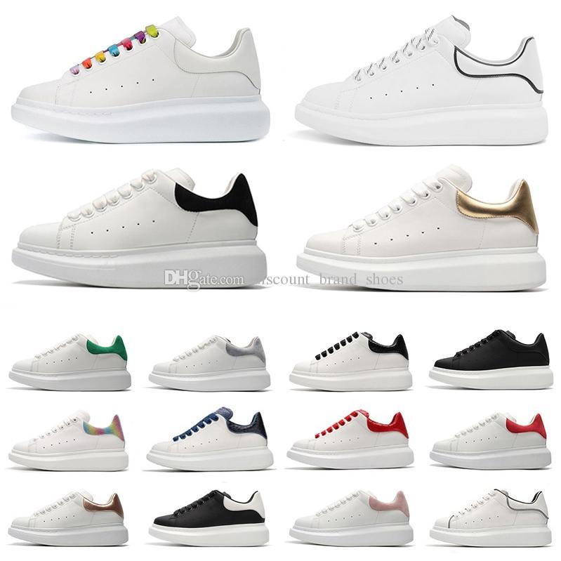 piattaforma di marca di moda di lusso designer scarpe casual da uomo pelle di serpente nero pelle scamosciata piatta in pelle scamosciata uomo donna scarpe da ginnastica sneakers