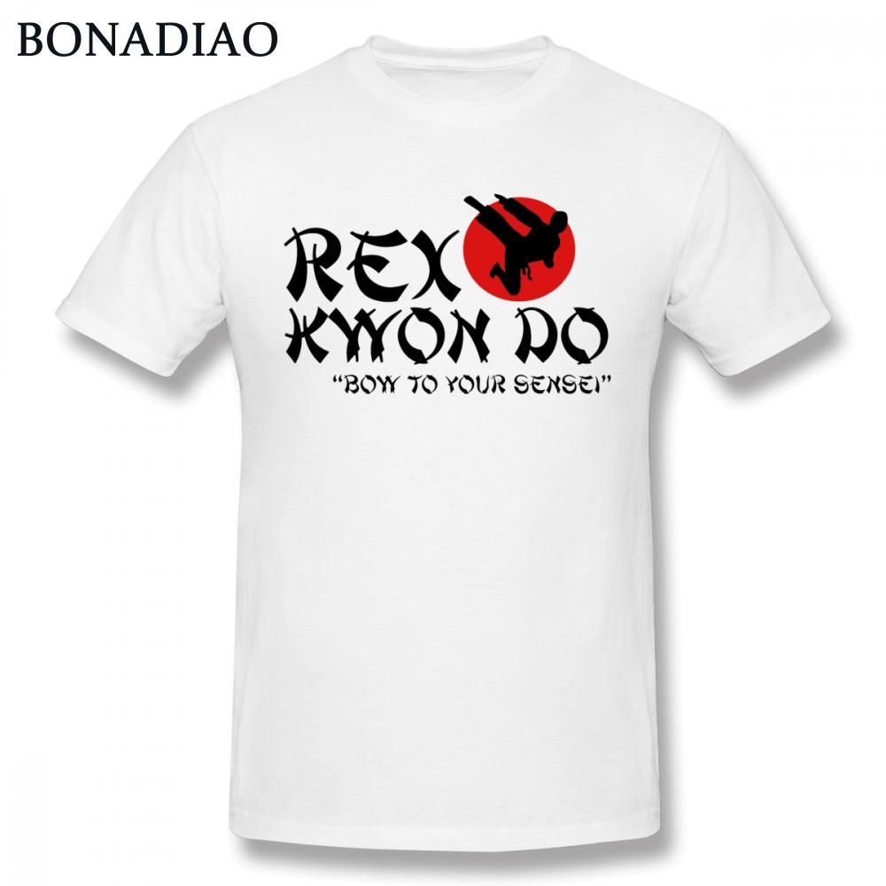 Boy Rex Kwon cintrent à votre Sensei Karaté T-shirt homme cool style 100% coton S-6XL Big Taille Camiseta