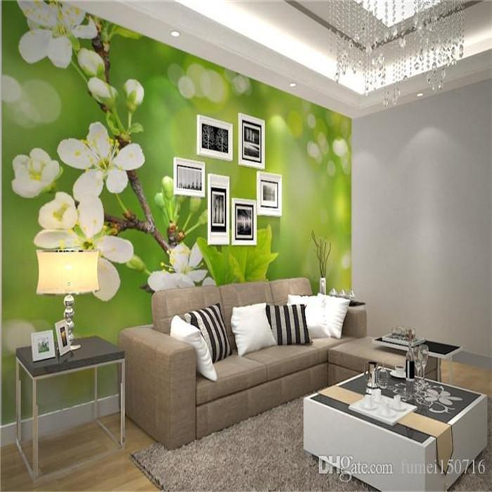 Modern Simple Flower Mural 3d Wallpaper Living Room Bedroom Dining Room Cozy Design Interior Decor Wall Paper Papel De Parede 3d 3d Wallpaper 3d Wallpapers From Fumei150716 21 36 Dhgate Com